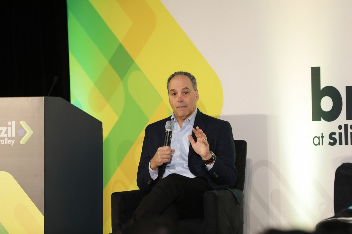 Dan Rosensweig, CEO da Chegg Study, no Brazil at Silicon Valley (Foto: Divulgação)
