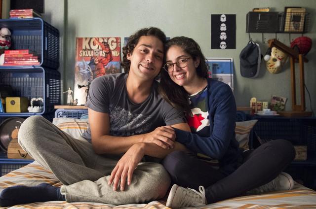 Eduardo Sterblitch e a diretora de 'Shippados', Patricia Pedrosa (Foto: Estevam Avellar/TV Globo )