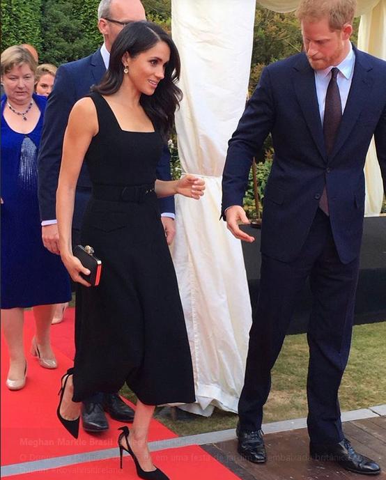 Meghan Markle e príncipe Harry (Foto: Twitter/Reprodução)