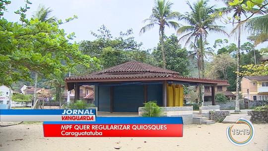 MPF quer licitação para nova concessão de quiosques nas praias de Caraguatatuba, SP