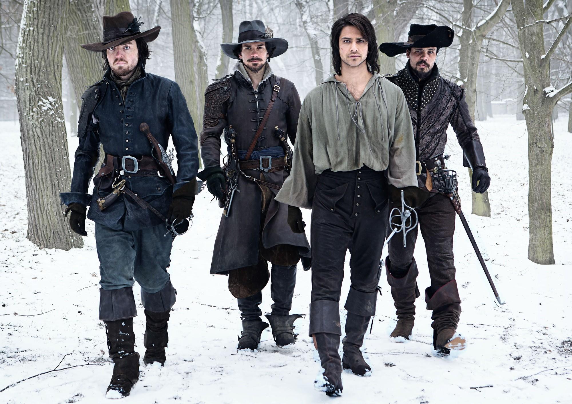 Elenco de 'The Musketeers' (Foto: Divulgação)