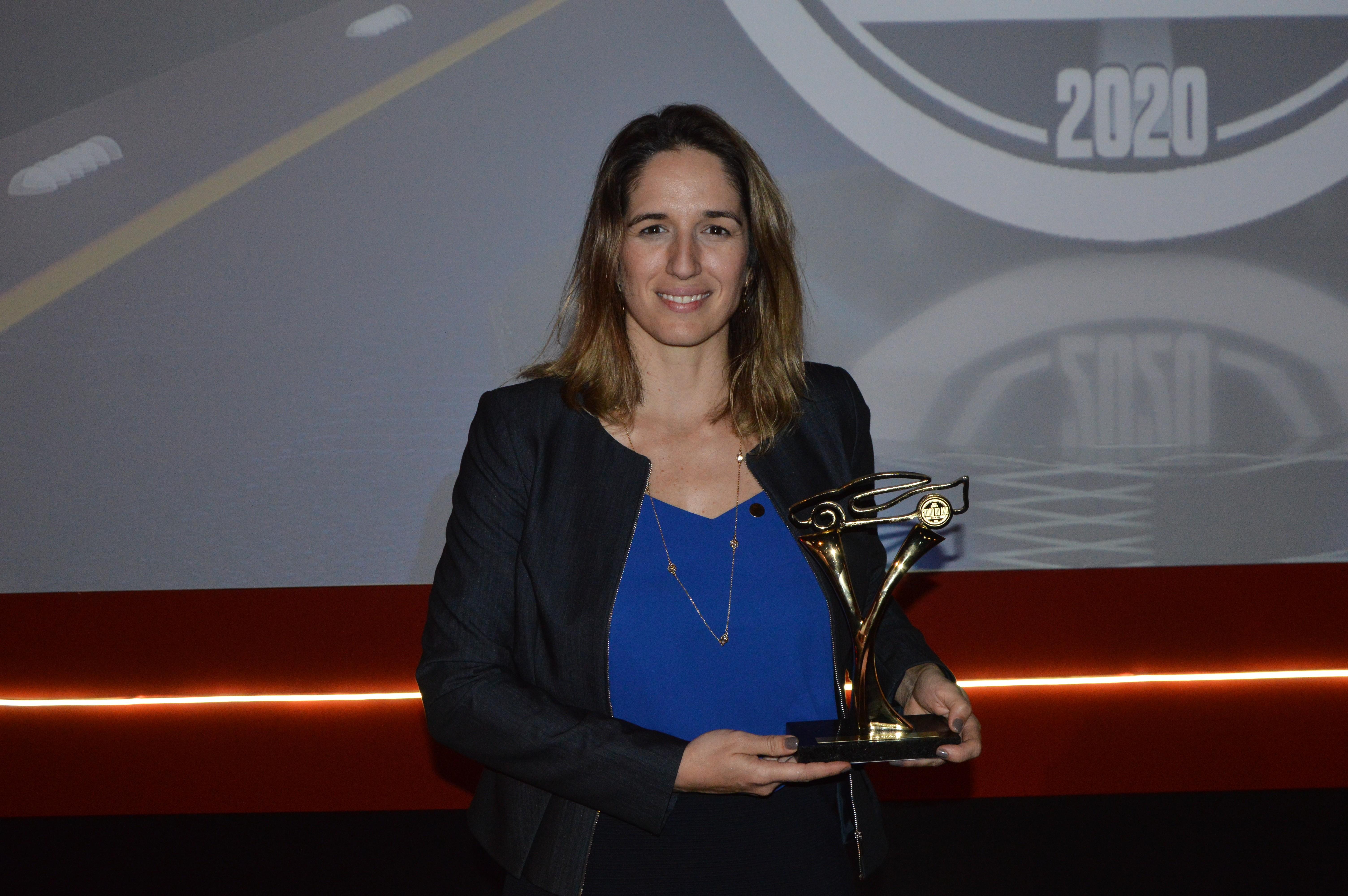 Bia Figueiredo é a mais nova integrante do Hall da Fama Autoesporte (Foto: André Schaun)