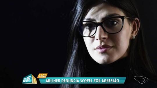 Cantora sertaneja denuncia agressão de marido, que é empresário no ES