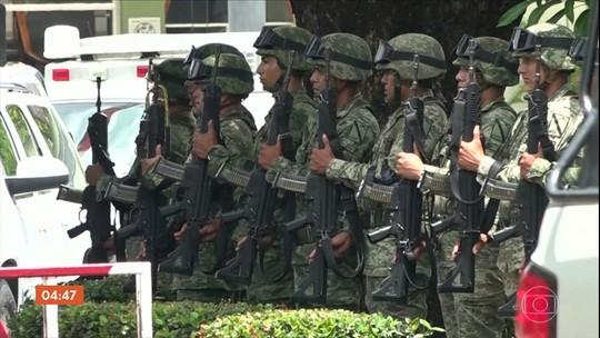 Seis mil soldados do México começam a monitorar a fronteira com a Guatemala