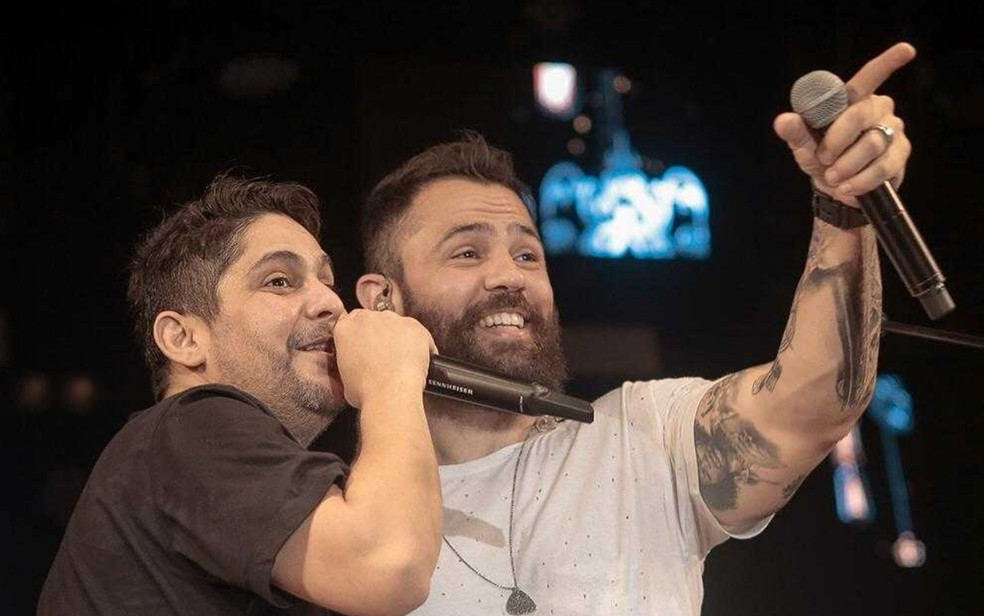 Jorge e Mateus preparam show inédito em Goiânia, Goiás — Foto: Divulgação/Jorge e Mateus
