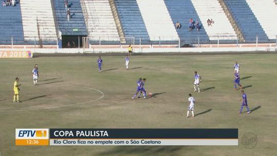 Edson Vieira reconhece erros do Rio Claro, mas vê empate em casa como resultado justo