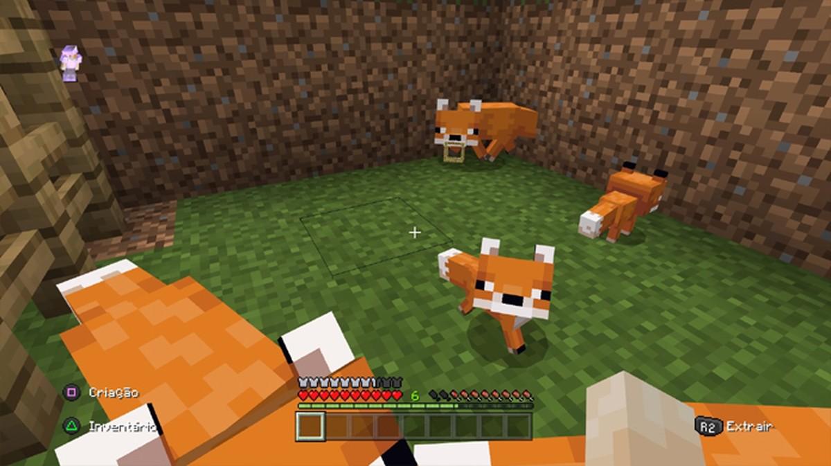 Raposa no Minecraft: veja como domesticar o animal no jogo  Jogos