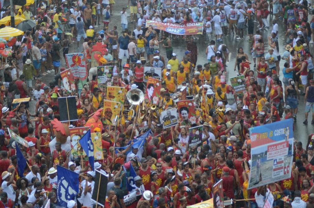 Mudança do Garcia no Campo Grande (Foto: Márcio Reis/Agência Haack)