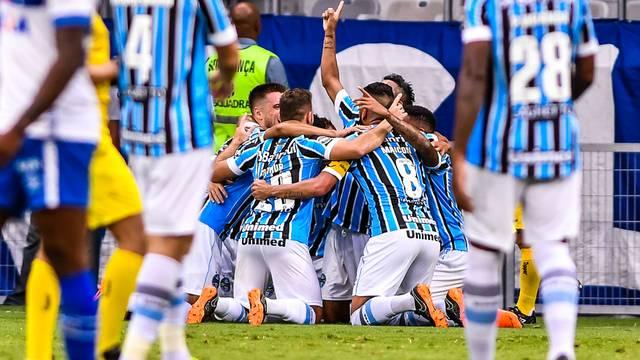 Cruzeiro x Grêmio André comemoração