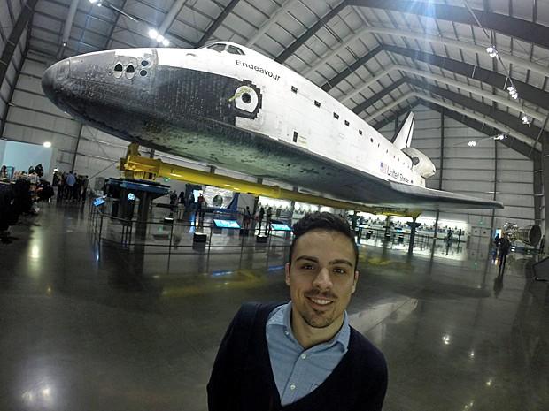 Mateus Oliveira, 22 anos, Estudante de Engenharia Aeroespacial  na UFMG, participa do programa Cieências sem Fronteiras (Foto: Arquivo pessoal/Mateus Oliveira)