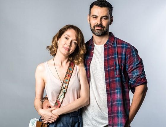 Camila Morgado e Carmo Dalla Vecchia: os atores são os protagonistas da nova temporada de Malhação (Foto: Divulgação/ Rede Globo)