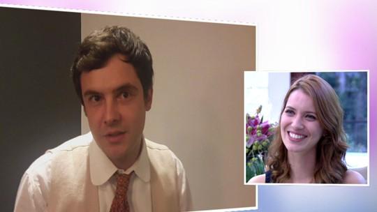 Sergio Guizé se declara para Nathalia Dill: 'Queria agradecer por você me fazer tão feliz'