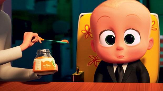 O poderoso chefinho (DreamWorks) | Quem tem mais de um filho sabe que, após a chegada do mais novo, o período de adaptação é conturbado. É disso que trata o filme: um caçula falante que usa terno e manipula todos a seu redor. Ao longo da trama, porém, os  (Foto: Divulgação)