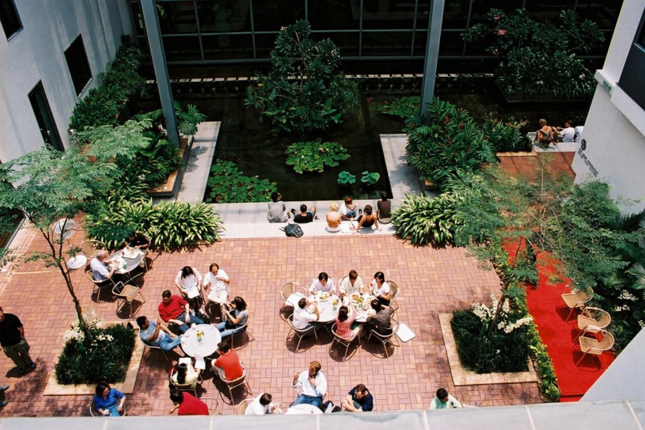 Campus da INSEAD em Cingapura (Foto: Arquivo pessoal)