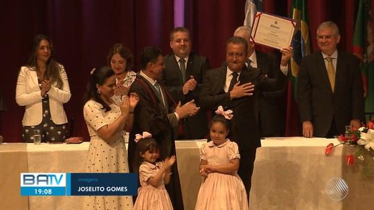Governador, senadores, deputados federais e estaduais da Bahia são diplomados para exercer as funções