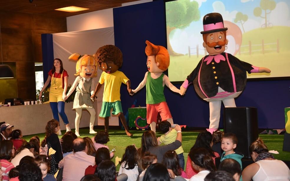 Mundo Bita é uma das atrações que se apresentam durante o evento (Foto: Luciana Prezia/Divulgação)