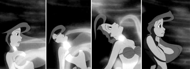 Cena de A Pequena Sereia que Sam Smith fez referência (Foto: Reprodução/GIPHY)