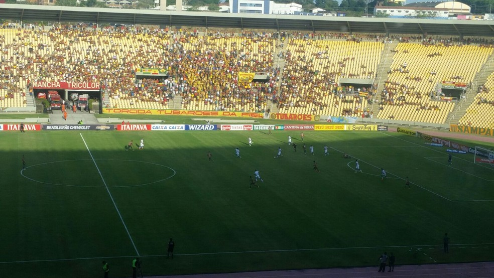 Sampaio e Paysandu jogam no Castelão pela Série B (Foto: Bruno Alves / GloboEsporte.com)