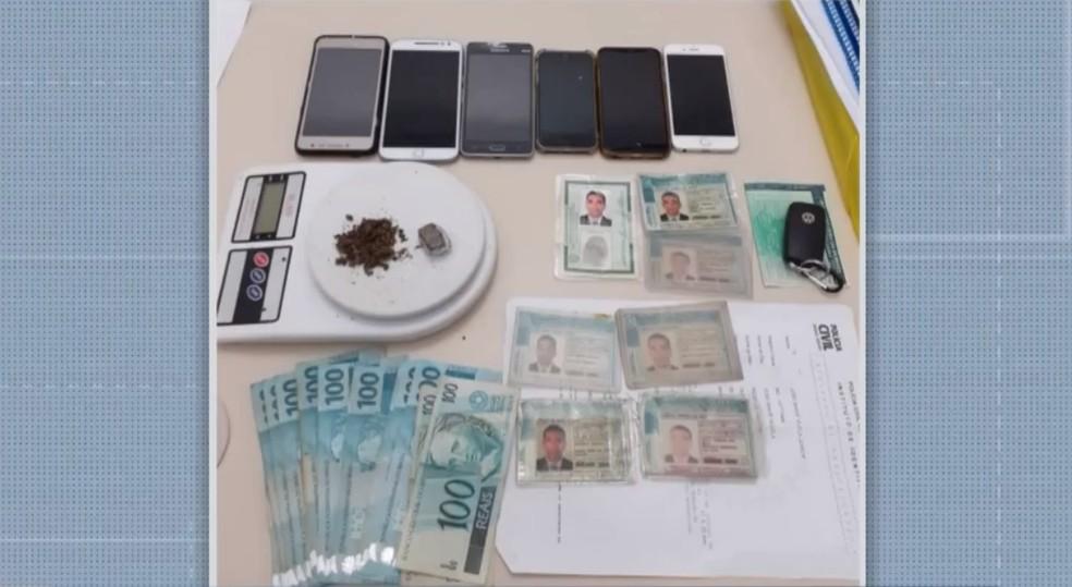 Homem apontado como chefe do tráfico de drogas em MG é preso no sul da Bahia — Foto: Reprodução/BMD