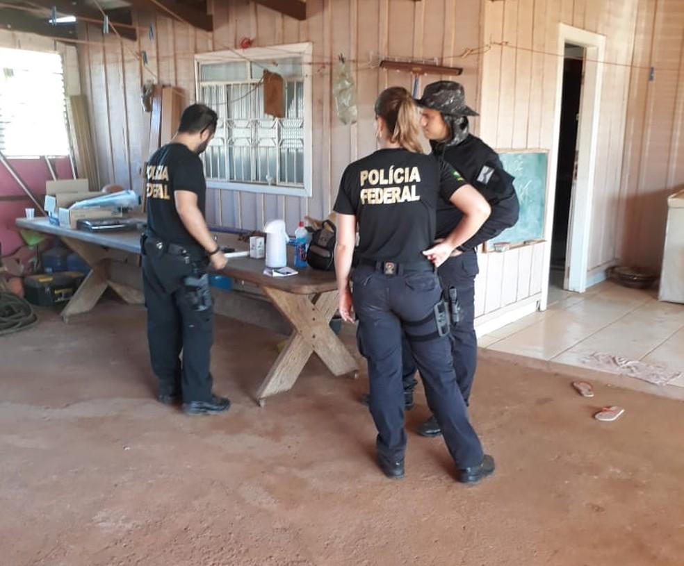 Mandados são cumpridos em Porto Velho — Foto: PF/Divulgação