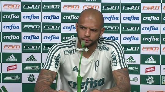 """Felipe Melo, sobre Lucas Lima: """"Vamos cobrar postura de atleta profissional que ele é"""""""