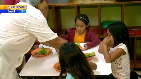 Projeto resgata cultura indígena por meio da alimentação em escola de Cacique Doble