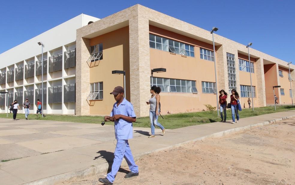 Campus da Universidade Federal do Oeste em Barreiras, na Bahia (Foto: Divulgação/ UFOB)