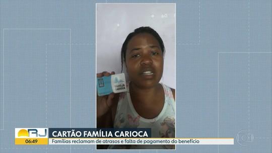 Famílias reclamam de atraso no Família Carioca