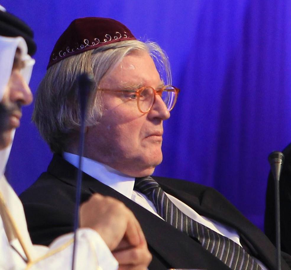 Foto do Rabino Henry Sobel de 24 de outubro de 2011 — Foto: Fadi Al-Assaad/Reuters