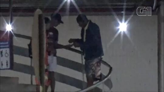 Homem é preso após ser flagrado vendendo crack na rodoviária do entorno, no DF; veja vídeo