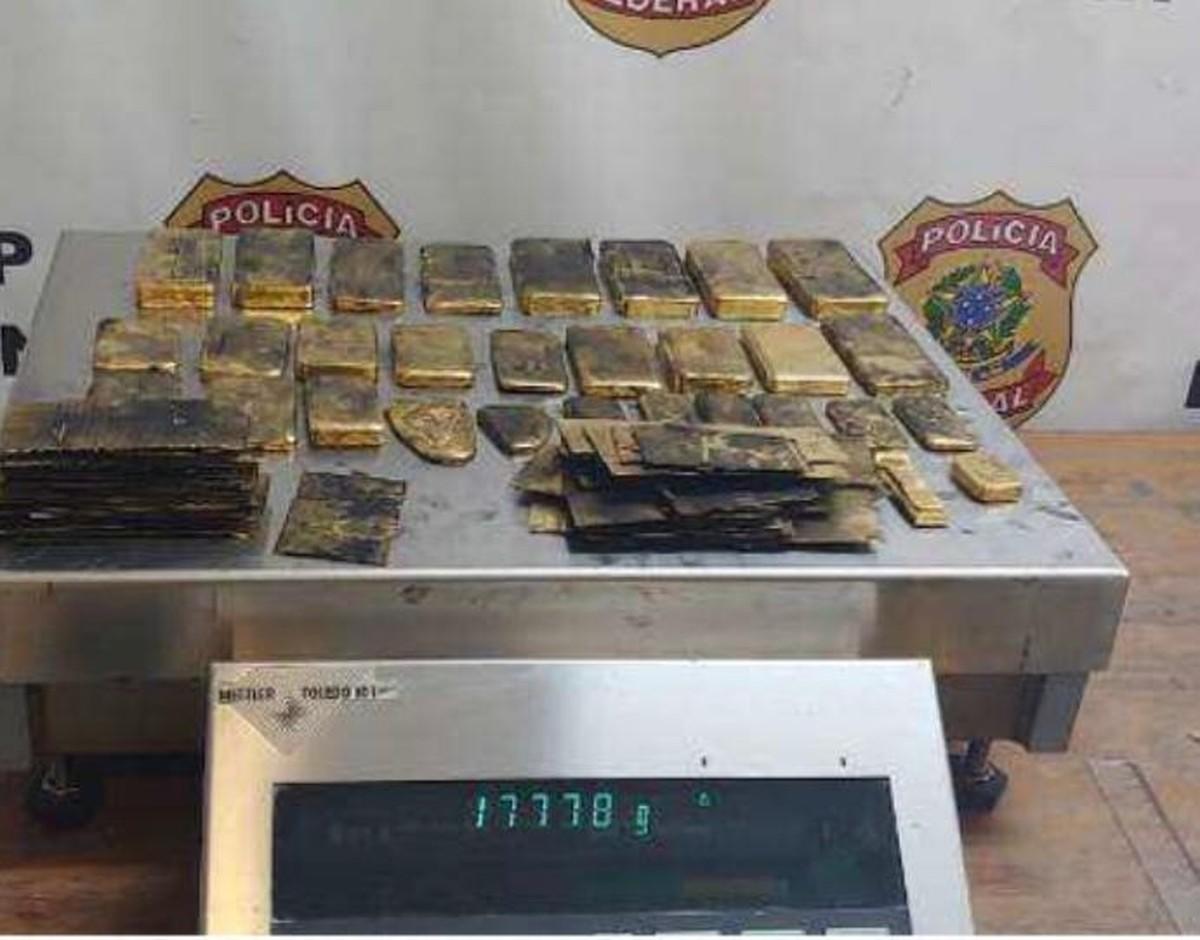 Quadrilha que contrabandeou mais de 1 tonelada de ouro de garimpos ilegais do Brasil para Itália é alvo de operação