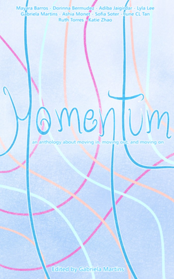Coletânea Momentum foi organizada por escritora brasileira (Foto: Divulgação)