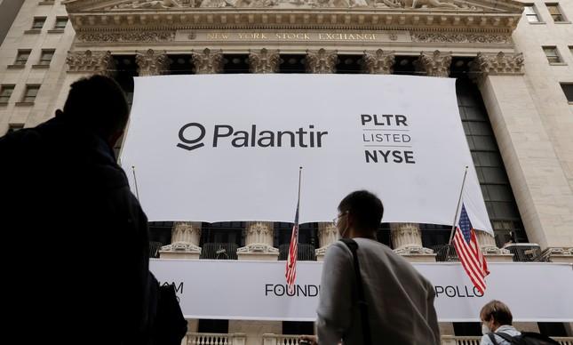 Palantir na NYSE