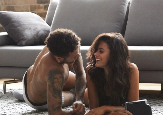 Making of: Bruna Marquezine e Neymar (Foto: Divulgação)