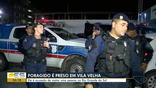 Foragido da Justiça há 15 anos é preso em Vila Velha, ES