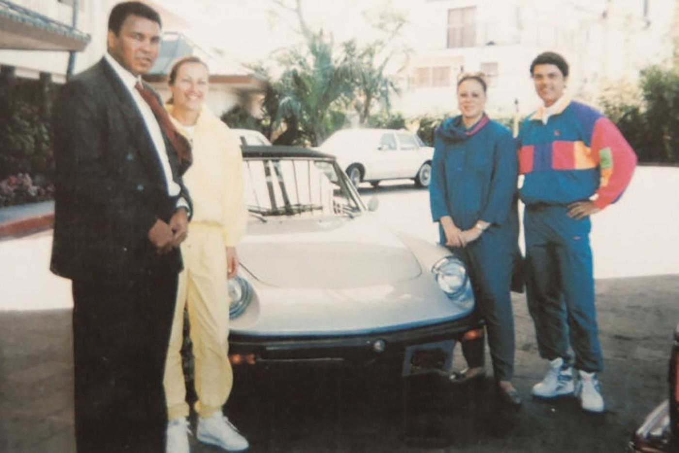 O Alfa Romeo que pertenceu a Muhammad Ali (Foto: Divulgação)