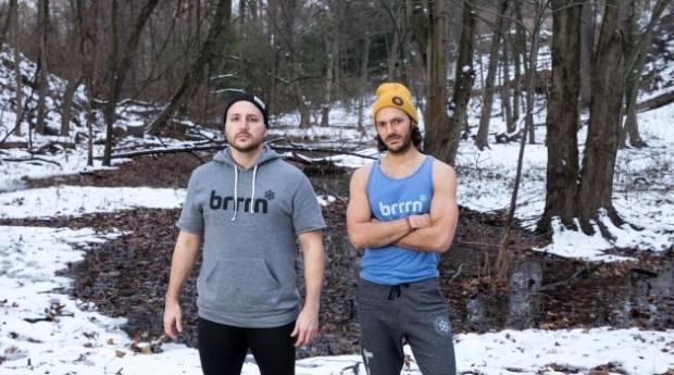 Jimmy Martin e Johnny Adamic, fundadores da Brrrn (Foto: Divulgação)
