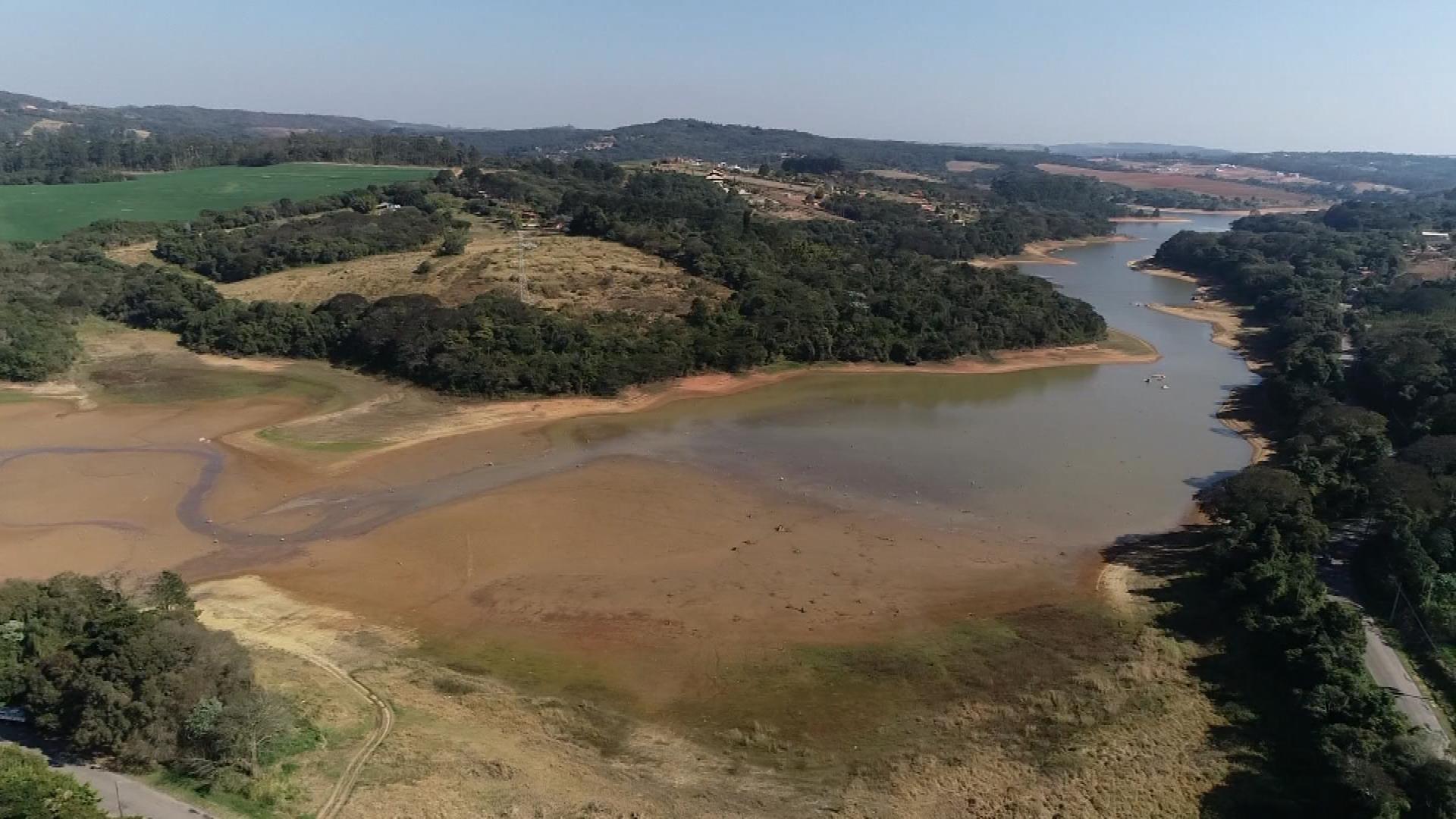 Vazão da Represa de Itupararanga é reduzida para evitar que reservatório tenha cota mínima de operação