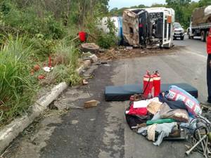 Ninguém ficou ferido (Foto: Nino Moreira / TV Bahia)