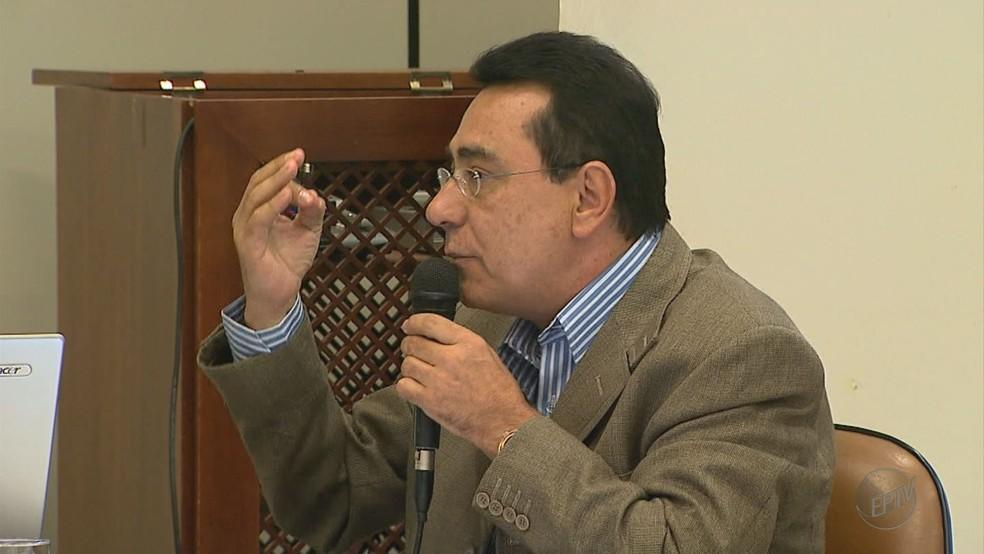 Oliveira Júnior, ex-vereador de Ribeirão Preto   (Foto: Reprodução/EPTV/Arquivo)