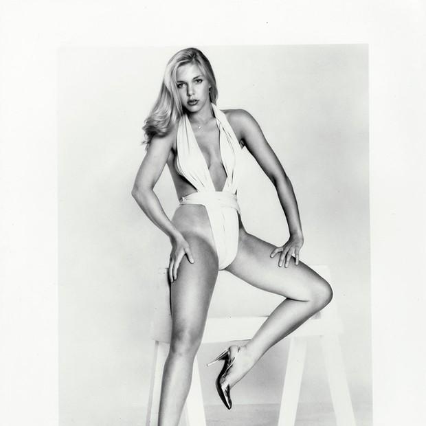 Christina Engelhardt em 1977, um ano depois de ter conhecido Woody Allen (Foto: Reprodução/THR)