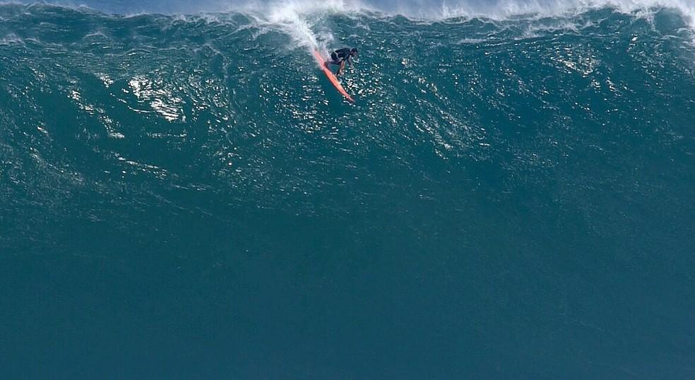 Pedro Scooby passou 3 meses gravando reality show e estava afastado do surfe (Foto: Fred Pomermayer)