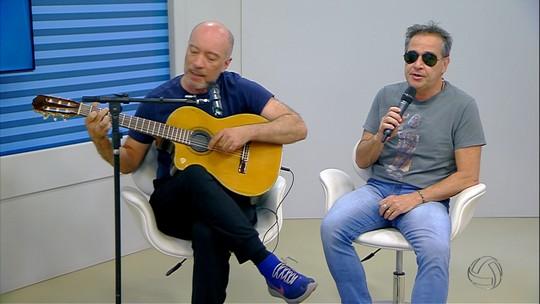 Cantor Nasi e guitarrista Edgard Scandurra falam sobre show do projeto Ira Folk! em MS
