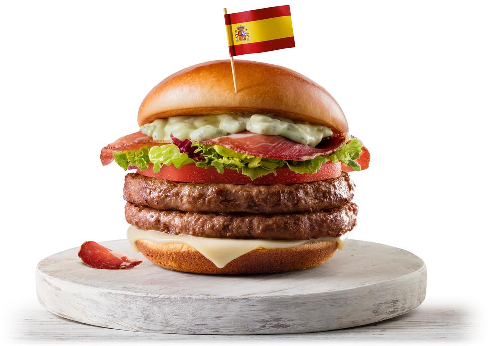 McEspanha, um dos sanduíches do McDonald's lançado para a Copa do Mundo (Foto: Divulgação)