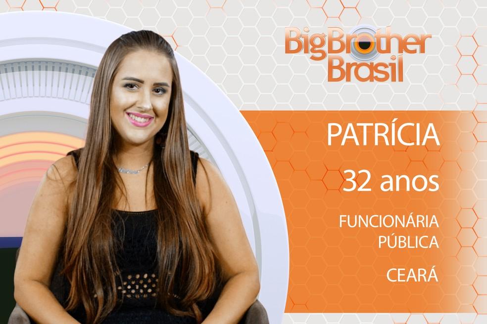 Patrícia é participante do BBB18 (Foto: TV Globo)
