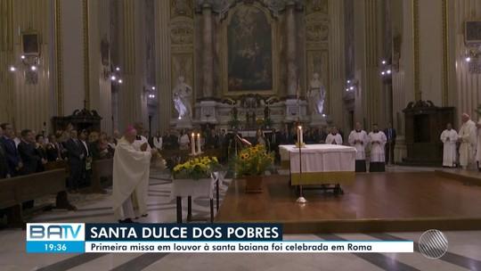 Primeira missa em homenagem à Santa Dulce dos Pobres é celebrada no Vaticano nesta segunda