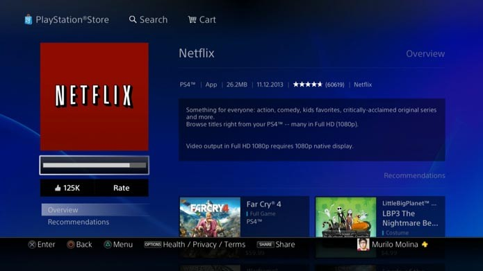 how to connect to us netflix on ps4