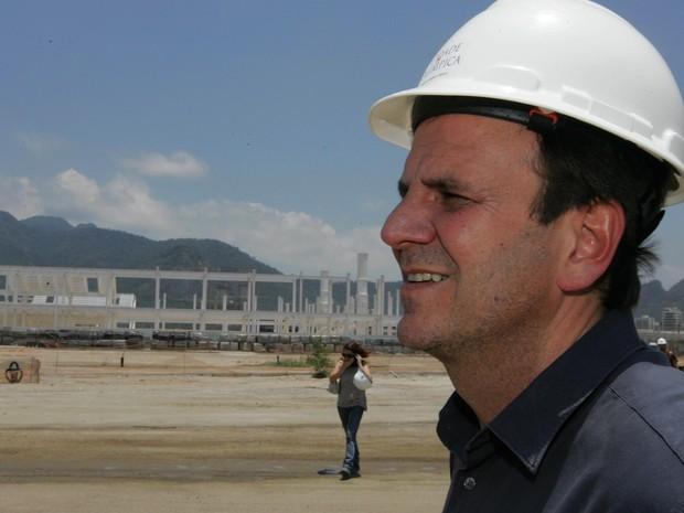 Eduardo Paes tem dois anos decisivos pela frente, com a comemoração dos 450 anos do Rio e as Olimpíadas de 2016 (Foto: Fábio Gonçalves/Agência O Dia/Estadão Conteúdo)