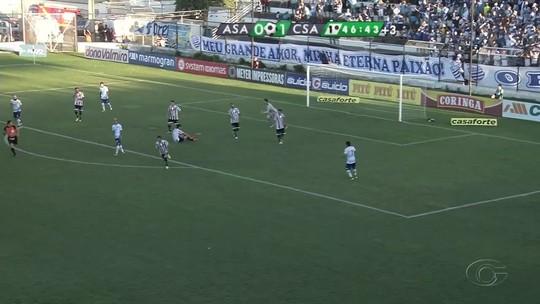 Na década, CSA e ASA se enfrentam pela terceira vez em semifinal do Alagoano