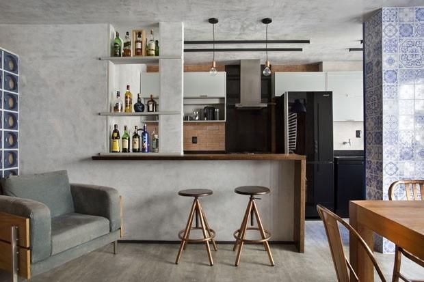 Apartamento para solteiro: inspire-se com x ideias de decoração (Foto: DENILSON MACHADO/MCA ESTÚDIO)